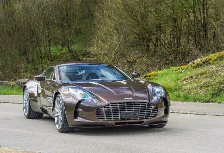 galerie photo ASTON MARTIN ONE 77