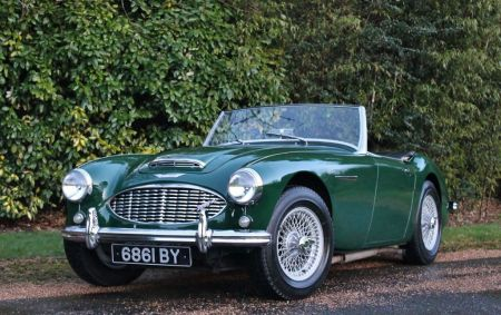 galerie photo AUSTIN HEALEY 3000
