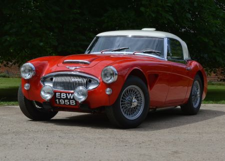 galerie photo AUSTIN HEALEY Mk2 BJ7