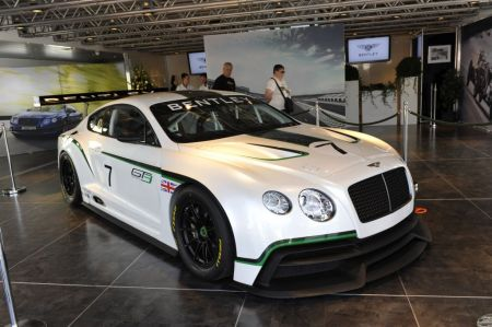 galerie photo BENTLEY CONTINENTAL GT3