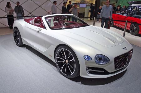 Photo BENTLEY EXP 12 SPEED 6E