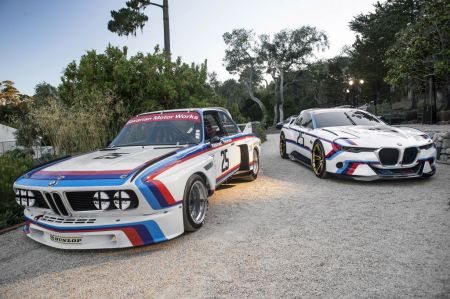 galerie photo BMW CSL Hommage