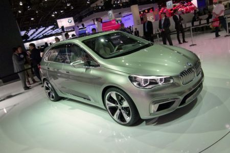 Photo BMW CONCEPT ACTIVE TOURER
