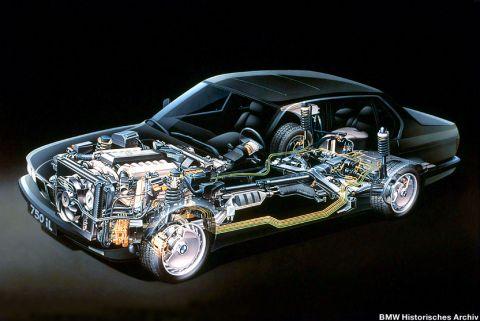 galerie photo BMW (E38) 750i V12 326 ch
