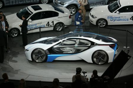 Photo BMW VISION EFFICIENTDYNAMICS