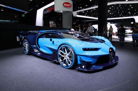 Photo BUGATTI VISION GRAN TURISMO