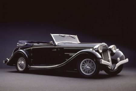 galerie photo DELAHAYE Coupe des Alpes Cabriolet Mylord Chapron