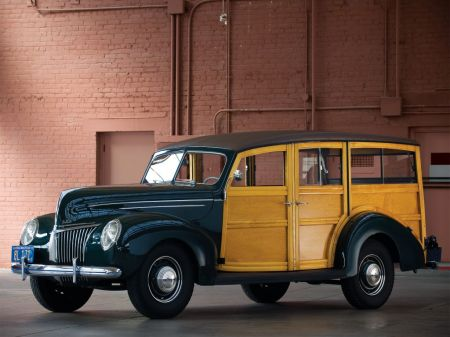 galerie photo FORD USA Deluxe Station Wagon