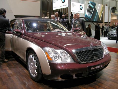 galerie photo MAYBACH 62
