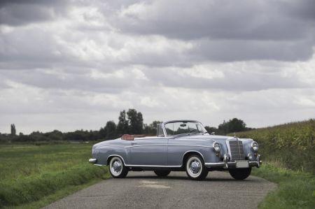 galerie photo MERCEDES S Cabriolet 2.2L 105ch (W180 II Ponton)