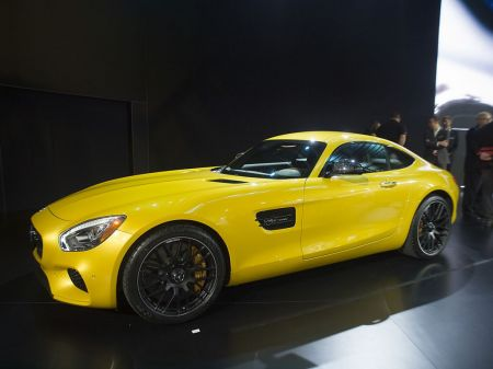 Photo MERCEDES AMG GT