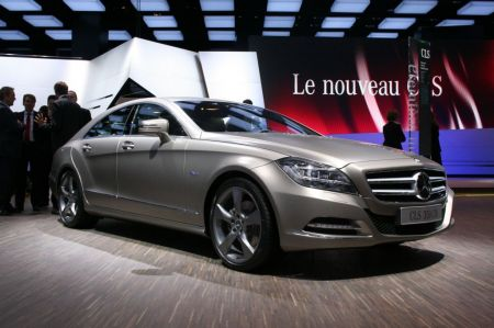 galerie photo MERCEDES (Berline C219) 350 CDI