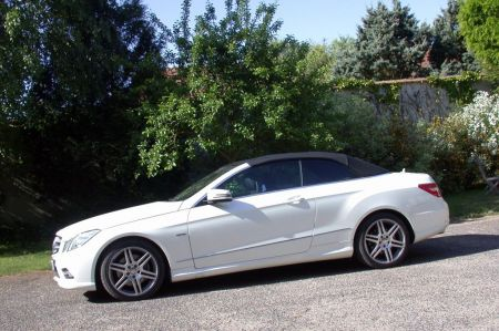 galerie photo MERCEDES (Cabriolet A207) 350 CDI BlueEfficiency