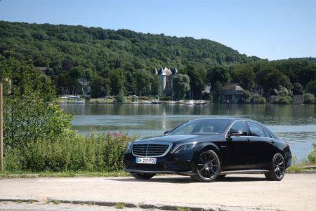 galerie photo MERCEDES (Berline W222) 63 AMG V8 585 ch 4Matic L