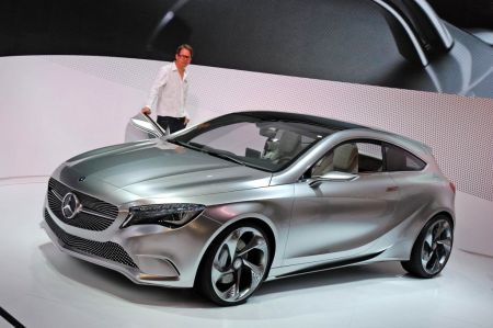 Photo MERCEDES CONCEPT A-CLASS