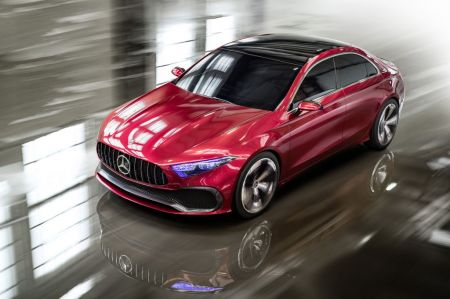 galerie photo MERCEDES CONCEPT A SEDAN