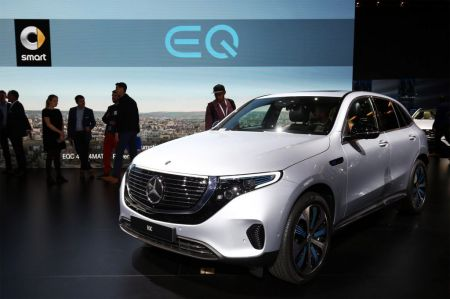 Photo MERCEDES EQC