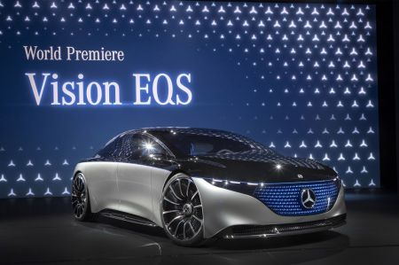 Photo MERCEDES VISION EQS