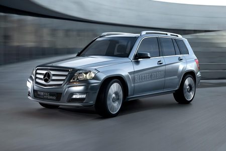 galerie photo MERCEDES Bluetec Hybrid
