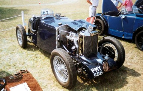galerie photo MG TYPE Q MIDGET