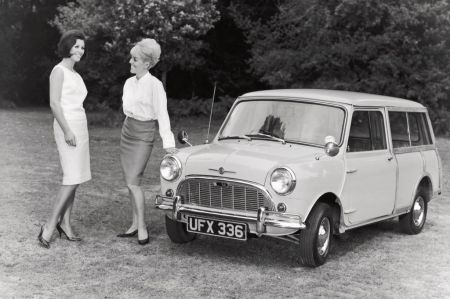 galerie photo MORRIS MINI TRAVELLER