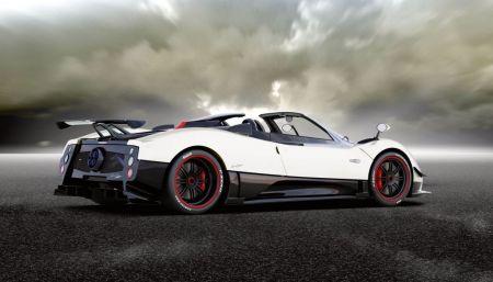 galerie photo PAGANI Cinque Roadster