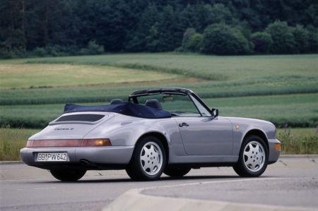 galerie photo PORSCHE (964) Carrera 4 Cabrio 3.6 250 ch