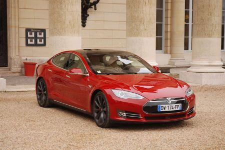 galerie photo TESLA MODEL S