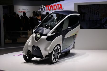 Photo TOYOTA i-ROAD