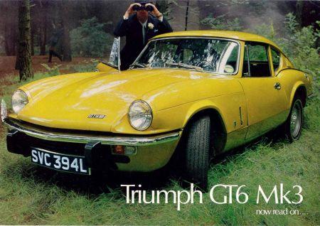 galerie photo TRIUMPH GT6