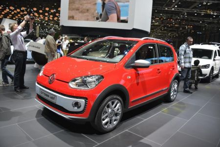 galerie photo VOLKSWAGEN CROSS UP!