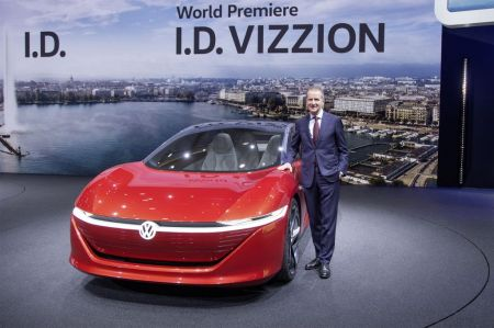 Photo VOLKSWAGEN I.D. VIZZION
