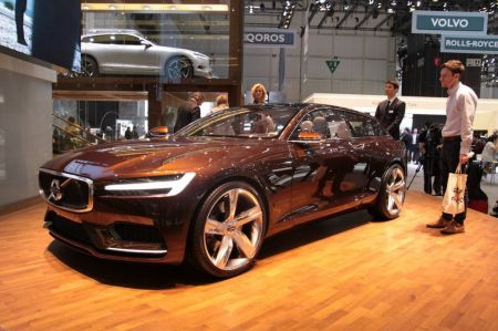 Photo VOLVO CONCEPT ESTATE